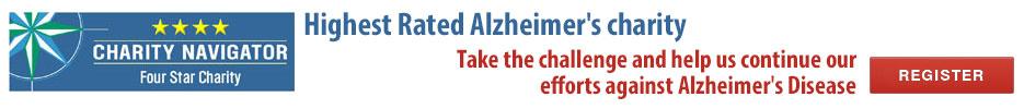 Highest Rated Alzheimer's Charity - Join the Alzheimer's Challenge